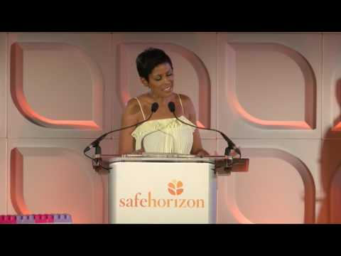 Tamron Hall Speaks Out Against Domestic Violence at Safe Horizon's 22nd Annual Champion Awards