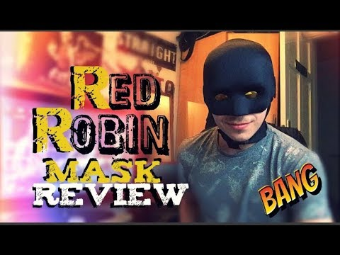 Homemade Red Robin Mask Review