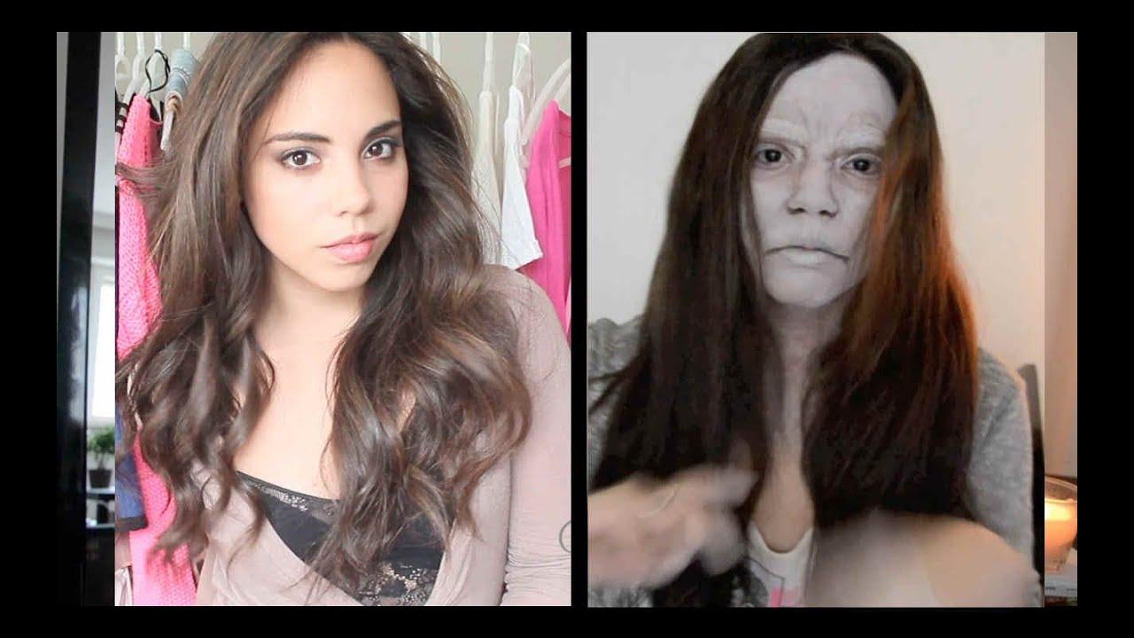 Maquillaje De Halloween Inspirado En Quot El Aro Quot Youtube