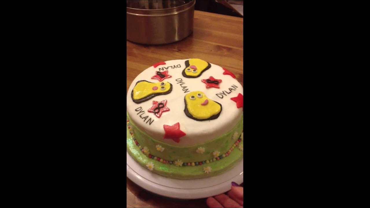 Cbeebies Birthday Cake Rachel Scotheren Youtube