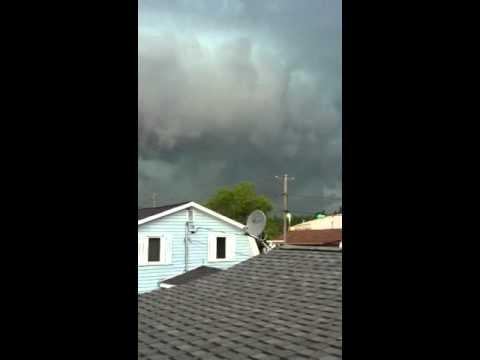 Tornado in Tobique New Brunswick Canada