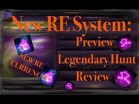 New RE System: Preview, Legendary Hunt & Review - Project Ascension PTR