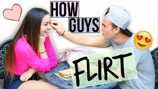 HOW TO TELL IF A GUY IS FLIRTING!