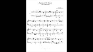 Phil Collins - Against All Odds - Piano Accompaniment