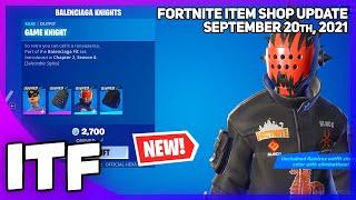 Fortnite Item Shop *NEW* BALEΝCIAGA BUNDLES! [September 20th, 2021] (Fortnite Battle Royale)