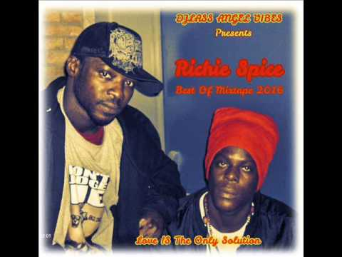 Richie Spice Best Of Mixtape By DJLass Angel Vibes (September 2016)