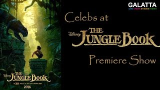 Celebs at The Jungle Book premiere | Namitha | BobbySimhaa | Sanchita | Sibi