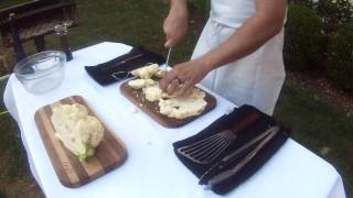 How to Grill a Cauliflower Side Dish for a BBQ!