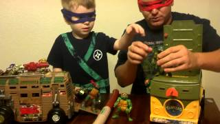 Review of TMNT toy 1988 vs 2013