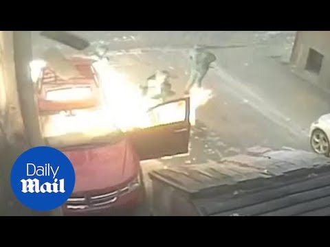 The Woody Show - FAIL: Arsonists Almost Blow Themselves Up
