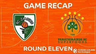 Highlights: Zalgiris Kaunas  - Panathinaikos Superfoods Athens