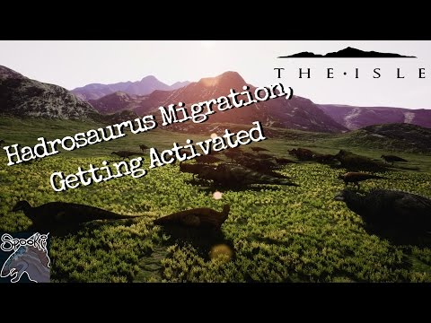 The Isle Realism: Hadrosaurus Migration, Getting Activated