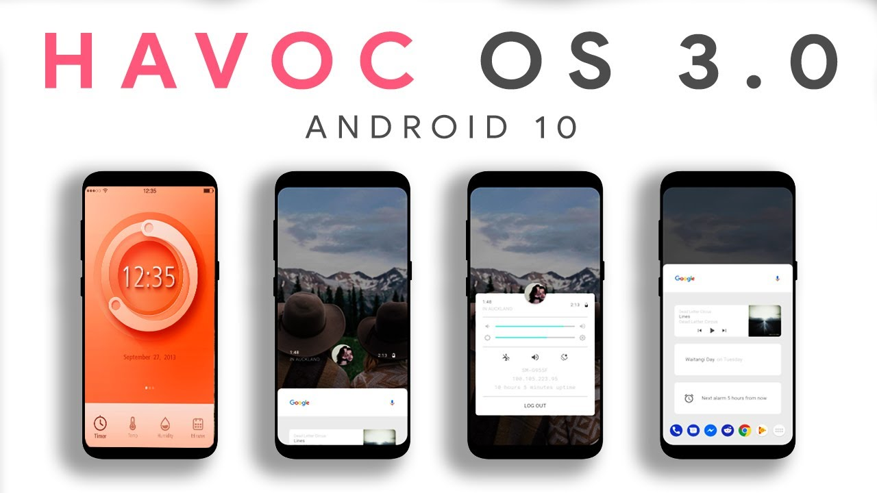 Havoc OS 3.0 - Most PowerFul Android 10 ROM ! - YouTube