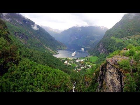 Geiranger, Norvegian Fjords Cruise