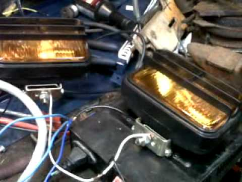 code 3 light flasher - YouTube Code Arch Beacon Wiring Diagram on