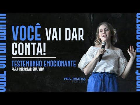 TESTEMUNHO FORTE PASTORA TALITHA PEREIRA - IGREJA DO AMOR