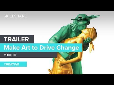 Make Art to Drive Change: Mirko Ilic on Color, Type, and Icons | Trailer
