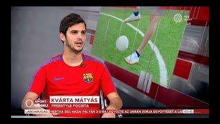 Kvárta Mátyás Kvartam  - M4 Sportreggeli