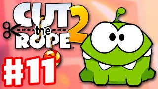 Cut the Rope 2 - Gameplay Walkthrough Part 11 - Fruit Market! 3 Stars! (iOS, Android)
