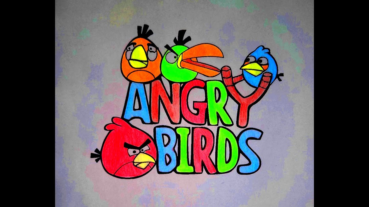 Angry Birds coloring pages for kids_Angry Birds coloring book for ...