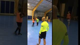 Coach Julio Cesar @ The Fields Futsal Training