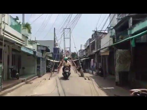Cầu Treo Trà Kha Bạc Liêu Bac Lieu