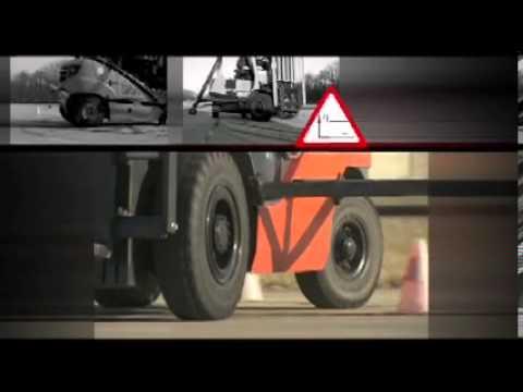UTAC France Test stabilnosti viljuskara TOYOTA