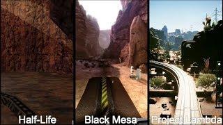 Скачать Half Life Vs Black Mesa Vs Project Lambda Inbound Comparison