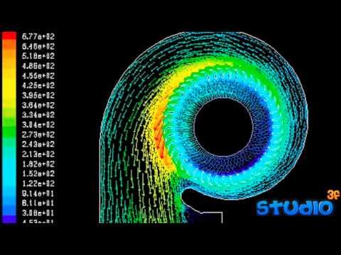 Cfd 離心風機數值模擬 Centrifugal Fan Youtube