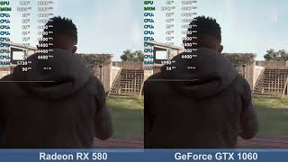 Radeon RX 580 vs. GeForce GTX 1060 - Far Cry New Dawn - Benchmark Comparison Test (i7-9700K)
