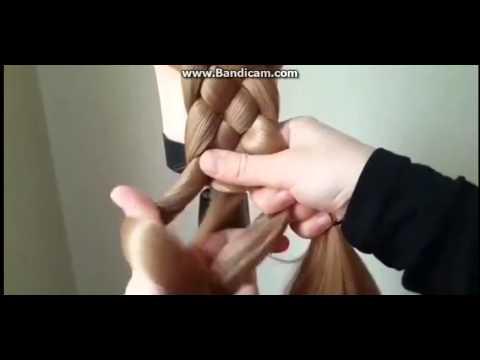 Cách tết tóc 5 múi