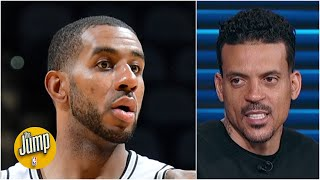 Matt Barnes has two 'concerns' over LaMarcus Aldridge joining the Nets | The Jump
