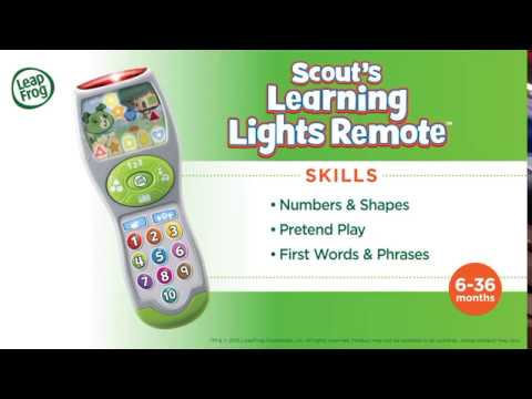 Scout's Learning Lights Remote | Demo Video | LeapFrog