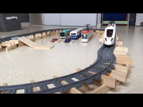 Train LEGO record de vitesse en provenance de Lyon Perrache