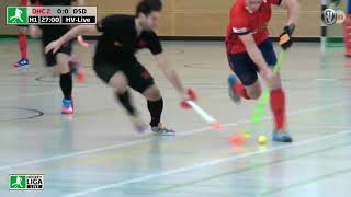 20.01.2019 - 1. Regionalliga-West - Halle - Herren DHC 2 vs. DSD - Livestream