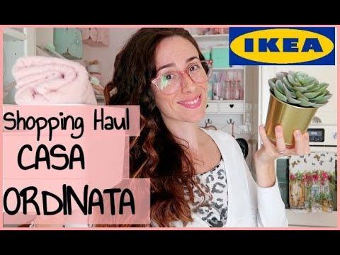 CASA ORDINATA ed ORGANIZZATA con IKEA  Storage Organizer  HOME HAUL   YouTube