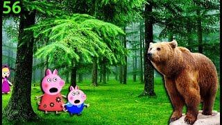 Маша и Медведь мультики новые серии Masha Et Michka 56  ПЕППА В ЛЕСУ Мультфильмы для детей