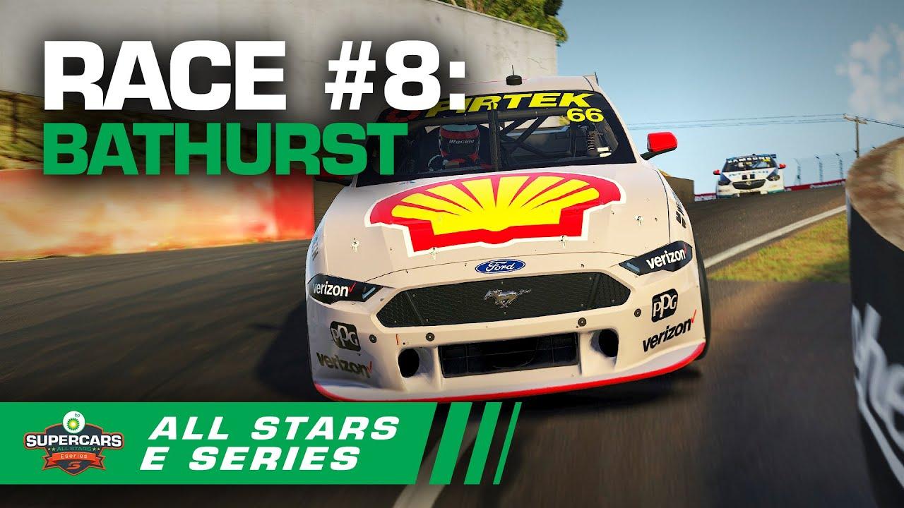 Race 8 Bathurst Bp All Stars Eseries Supercars 2020 Youtube