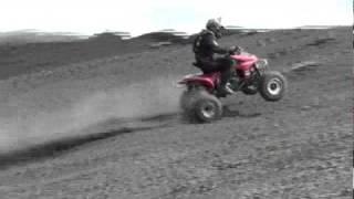 Jason Duckman Coal Hill ATV Climb
