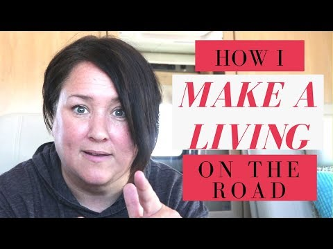 HOW I MAKE A LIVING AS A NOMAD & BONUS: how to bake on your propane stovetop!