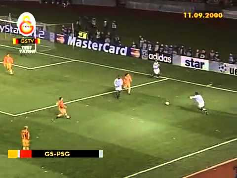 Galatasaray Paris Saint Germain 11 09 2000 Youtube