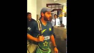 Pakistan Cricket Team Return To Hotel And Celebration Party