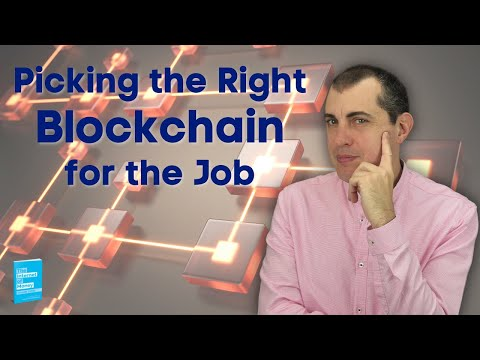 Picking the Right Blockchain for the Job