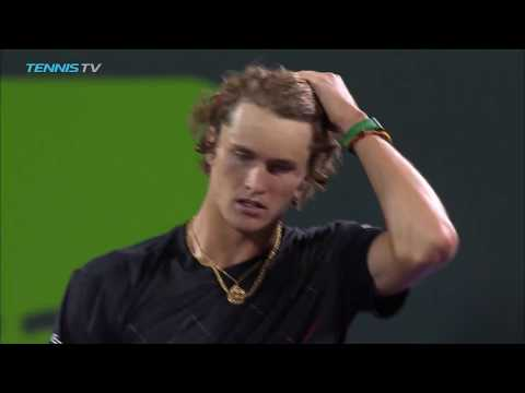 Carreno Busta, Zverev reach semi-finals | Miami Open 2018 Quarter-Final Highlights