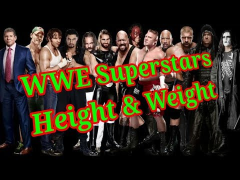 WWE Superstars Height & Weight