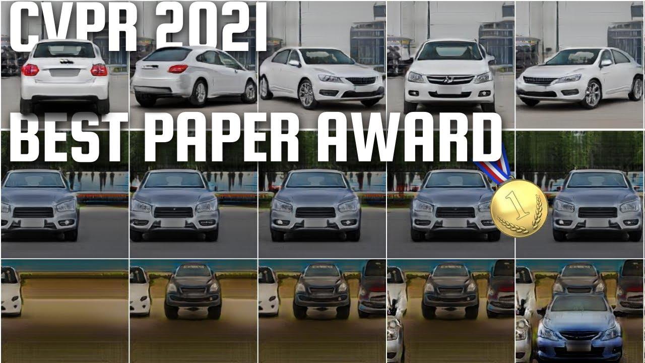 CVPR 2021 Best Paper Award: GIRAFFE - Controllable Image Generation