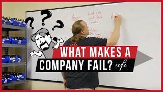 WHAT MAKES A COMPANY FAIL?