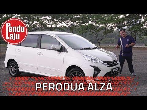 Pandu Uji Perodua Alza Facelift Versi 2018 - Ini Pandangan Abang!