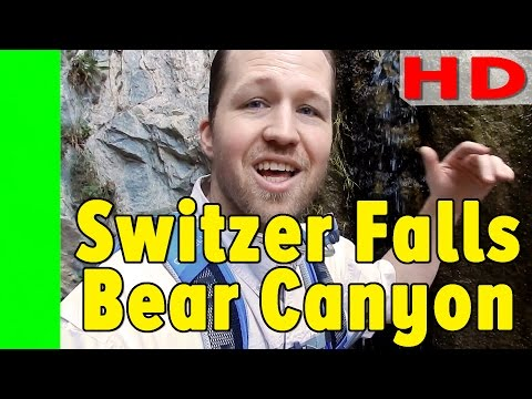 Switzer Falls and Bear Canyon campground hike