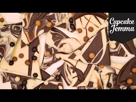 Super Easy Chocolate Bark Recipe | Cupcake Jemma
